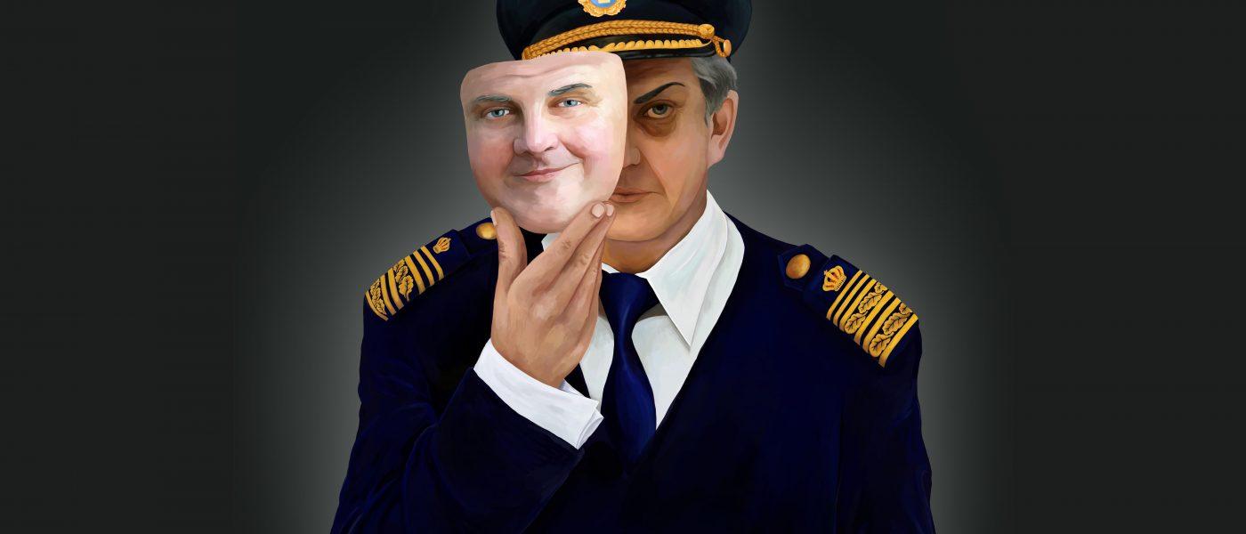 Kapten Klänning - polischef och våldtäktsman (1/3)